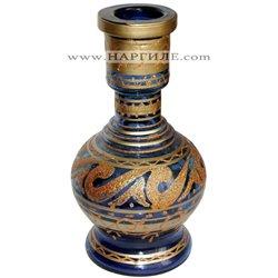 Стъкленица за Наргиле - рисувано стъкло